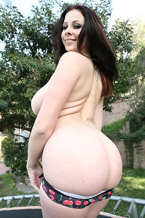 Outdoor intercourse of a big-boobed pornstar and her astounding sex partner. Watch them have hardcore fuck in the middle of a backyard.