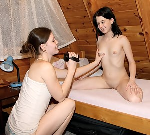 Stunning camera girl films her friend maturbating intensely