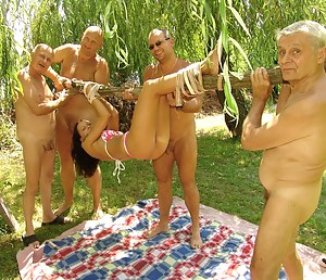 four old dicks are well spended on Krisztina